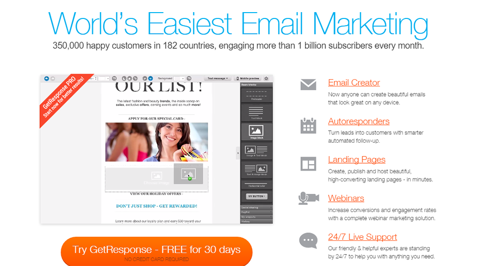 23 best email services for small business and beyondLanding Page Optimization Spot Response 347252 #12