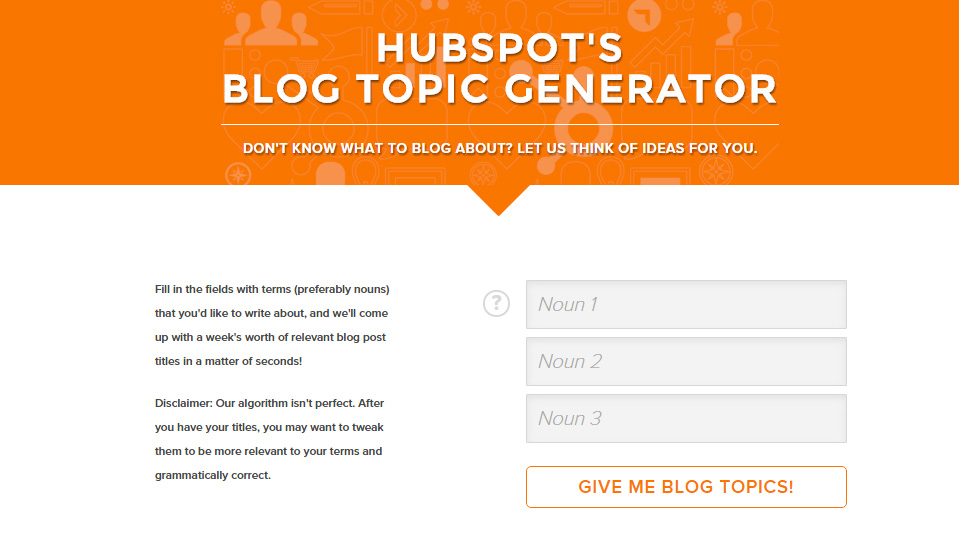 HubSpot's-Blog-Topic-Generato