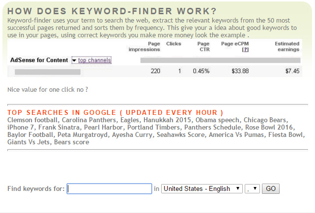 Keyword-Finder