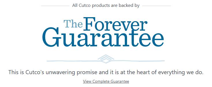 Cutco-forever-guarantee