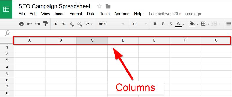 SEO-campaign-Google-Spreadsheet