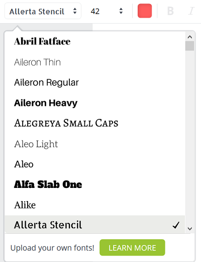 canva-font-selection-menu