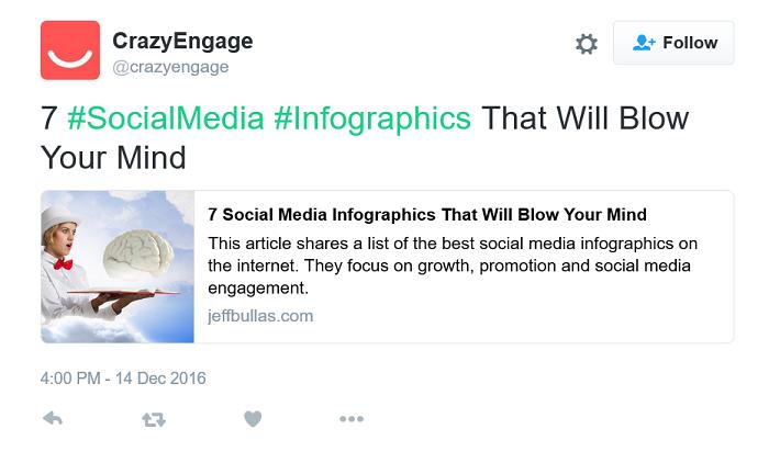 Crazy-Engage-using-hashtag-on-Twitter