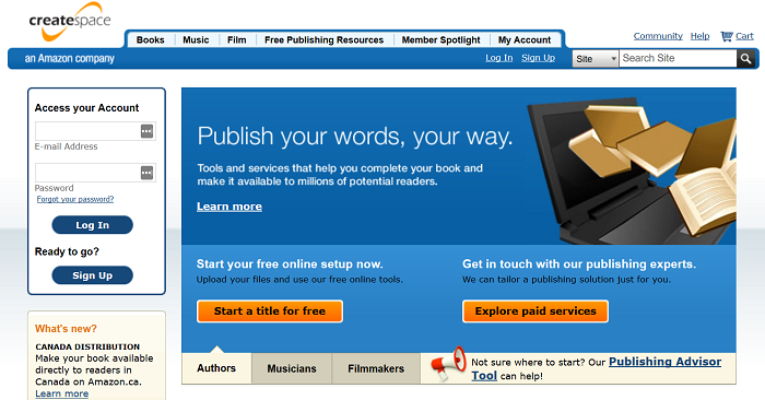 Amazon-CreateSpace-lets-you-convert-your-ebook-into-printed-book