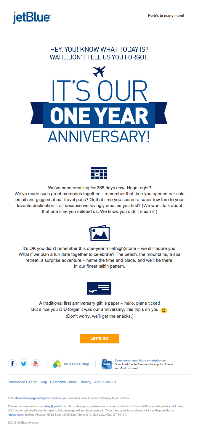 JetBlue-email-personalization-perfect-example