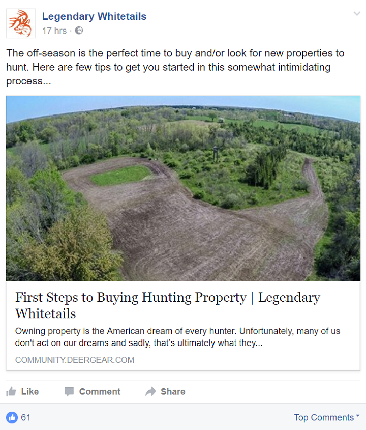 https://www.omnikick.com/wp-content/uploads/2017/03/Legendary-Whitetails-using-their-Facebook-page-to-educate-their-fans.png