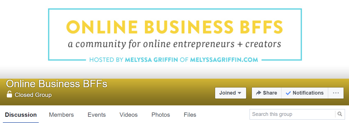 Melyssa-Griffin-has-built-an-active-group-that-helps-her-brand