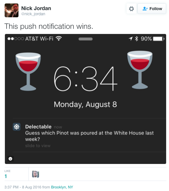 Your push notification should be personalized