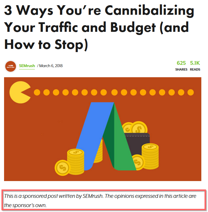 Sponsored post by SEMrush