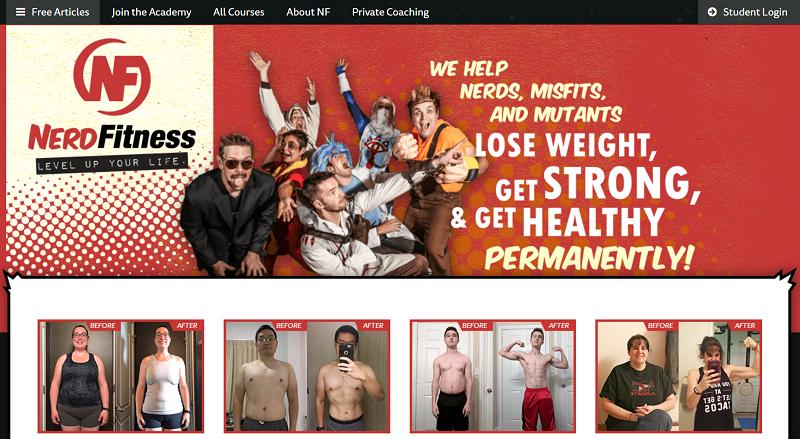 Nerd Fitness went niche