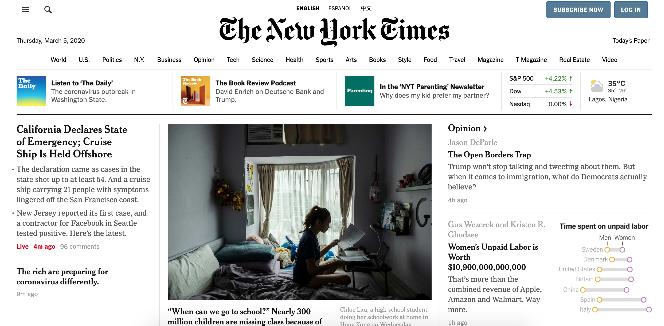 NYTimes use WordPress